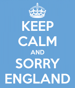 World Cup 2014 - Sorry England