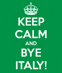 World Cup 2014 - Bye Italy